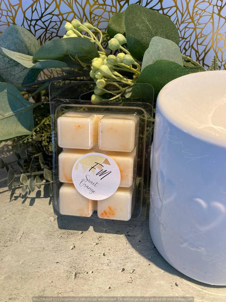 Wax Melts 6 pack Sweet Orange