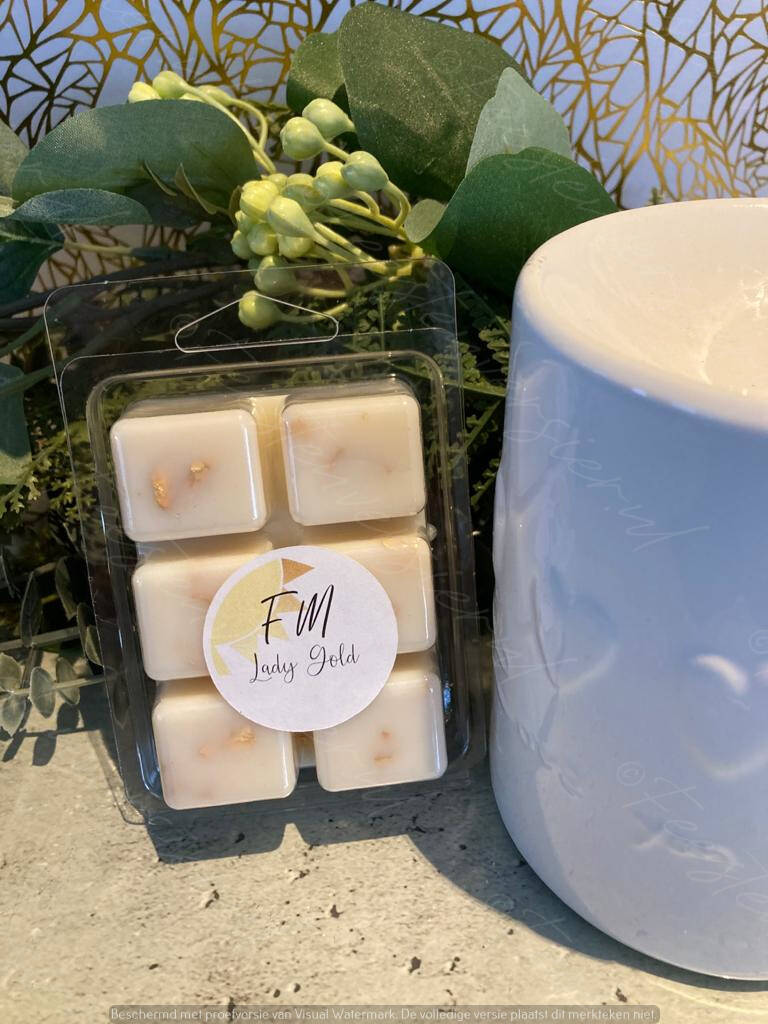 Wax Melts 6 pack Lady Gold
