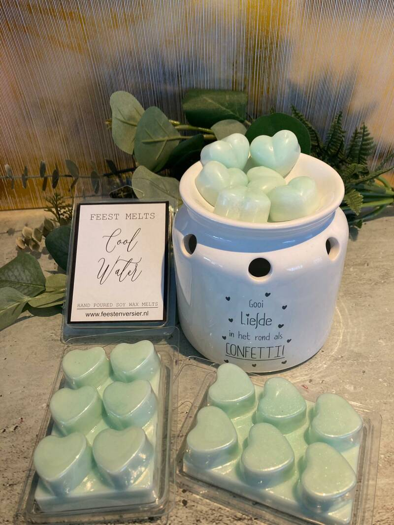 Wax Melts 6 pack Cool Water