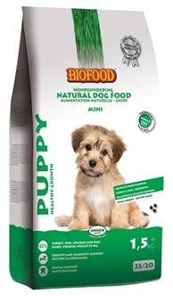BIOFOOD PUPPY SMALL BREED (meer)