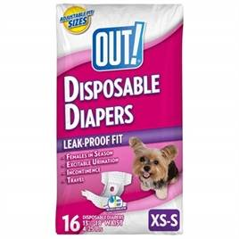 OUT! DISPOSABLE DIAPERS  (me)