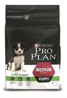 PRO PLAN PUPPY MEDIUM KIP/RIJST (me)