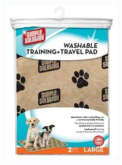 SIMPLE SOLUTION WASBARE PUPPY TRAINING PADS (me)