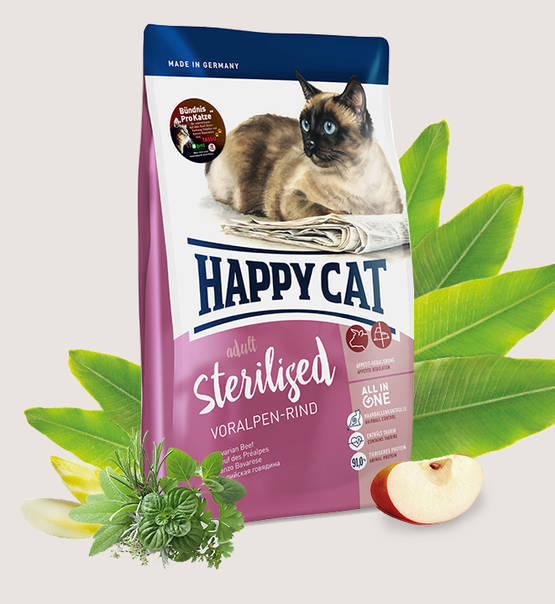 Happy Cat, Sterilised Voralpen-Rind