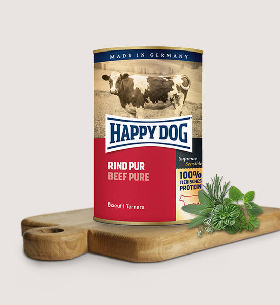 Happy Dog Natvoer - Rind Pur 100% rundvlees