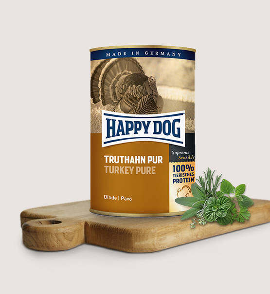 Happy Dog Wet Food - Truthahn Pur 100 % kalkoen