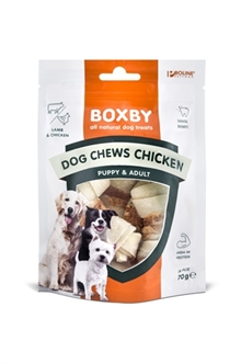 PROLINE DOG BOXBY CHEWS WITH CHICKEN 6 ST  ME391972