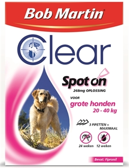 BOB MARTIN CLEAR SPOT ON HOND LARGE 3 PIPET  ME340199
