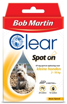 BOB MARTIN CLEAR SPOT ON HOND SMALL 3 PIPET  ME340198