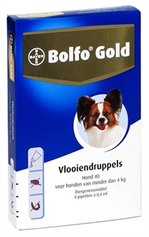 BOLFO GOLD HOND VLOOIENDRUPPELS 40 2 PIPET  ME29850