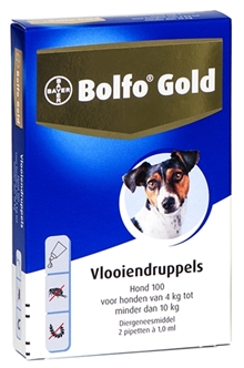 BOLFO GOLD HOND VLOOIENDRUPPELS 100 2 PIPET  ME29851