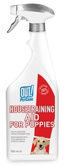 OUT! HOUSETRAINING AID FOR PUPPIES 500 ML  ME384735