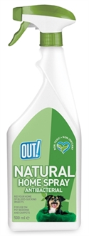 OUT! NATURAL HOME SPRAY ANTIBACTERIAL 500 ML  ME384741