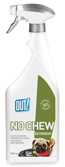 OUT! NO CHEW DETERRENT SPRAY 500 ML  ME384742