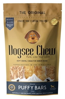 DOGSEE CHEW PUFFY BARS 70 GR  ME390879