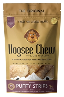 DOGSEE CHEW PUFFY STRIPS 70 GR  ME390878