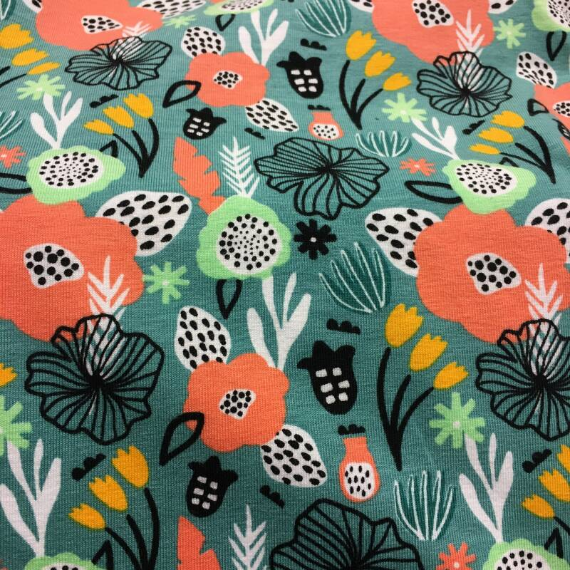 Tricot Flowery
