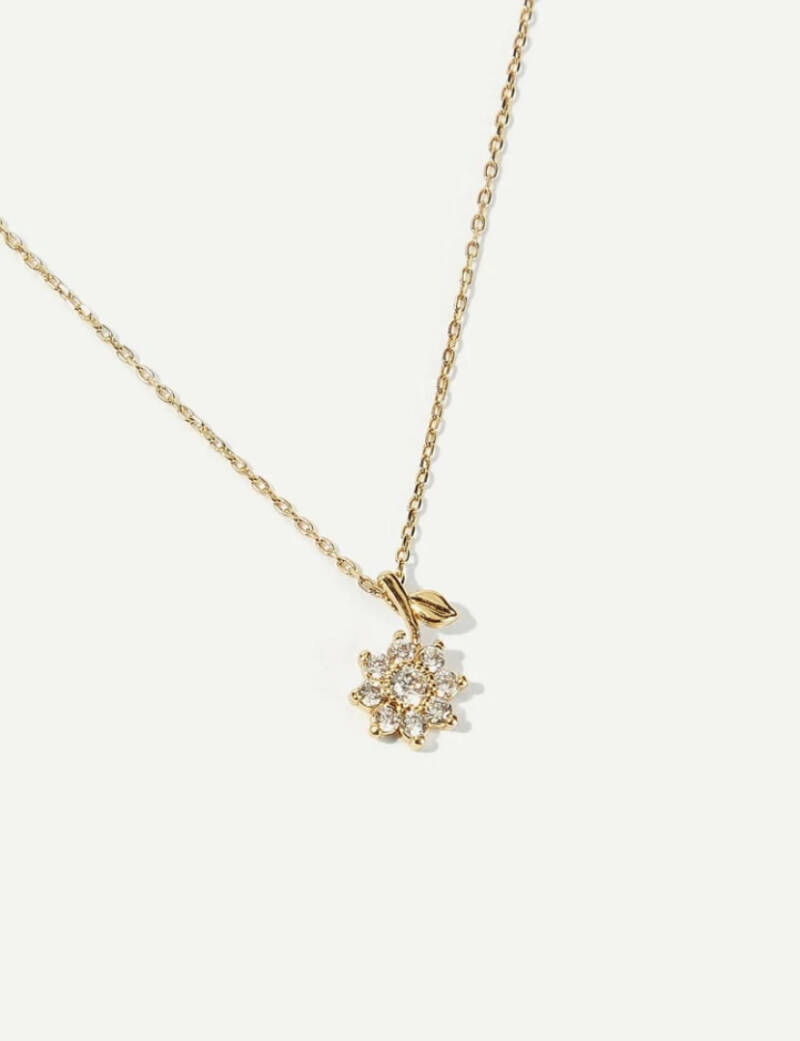 🌸 Flower Pendent Necklace