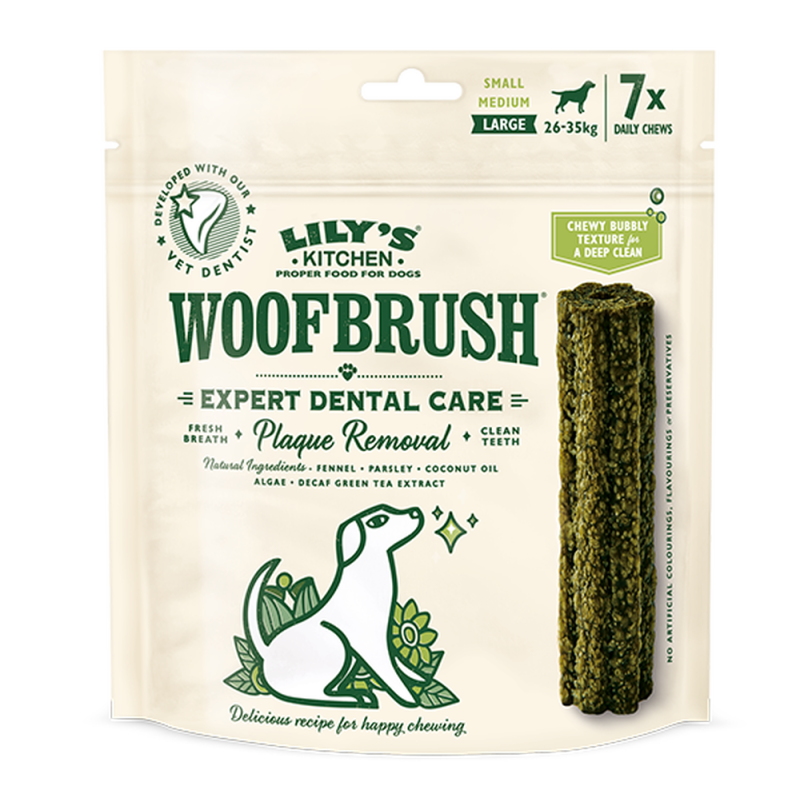 Lily's Kitchen Large Woofbrush Dental Chew