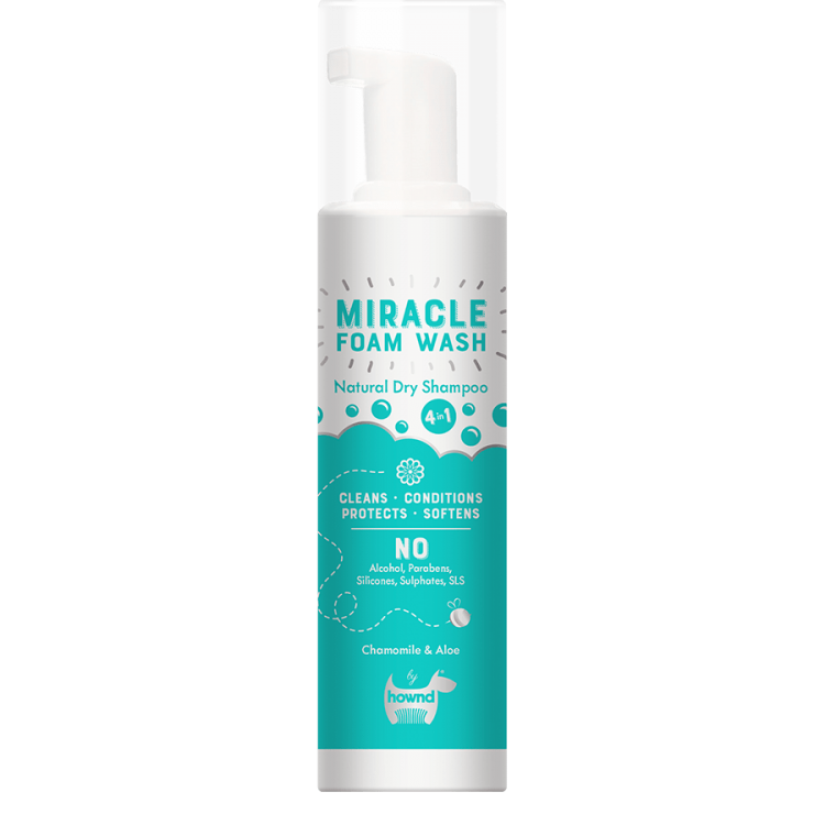 Miracle Natural Dry Foam Wash 200 ml