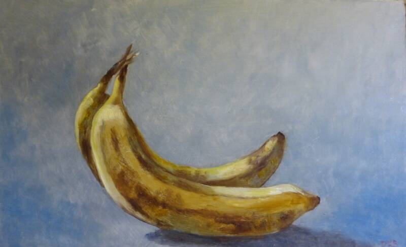 Bananen | Denise van der Burgh | Still-life of fruit