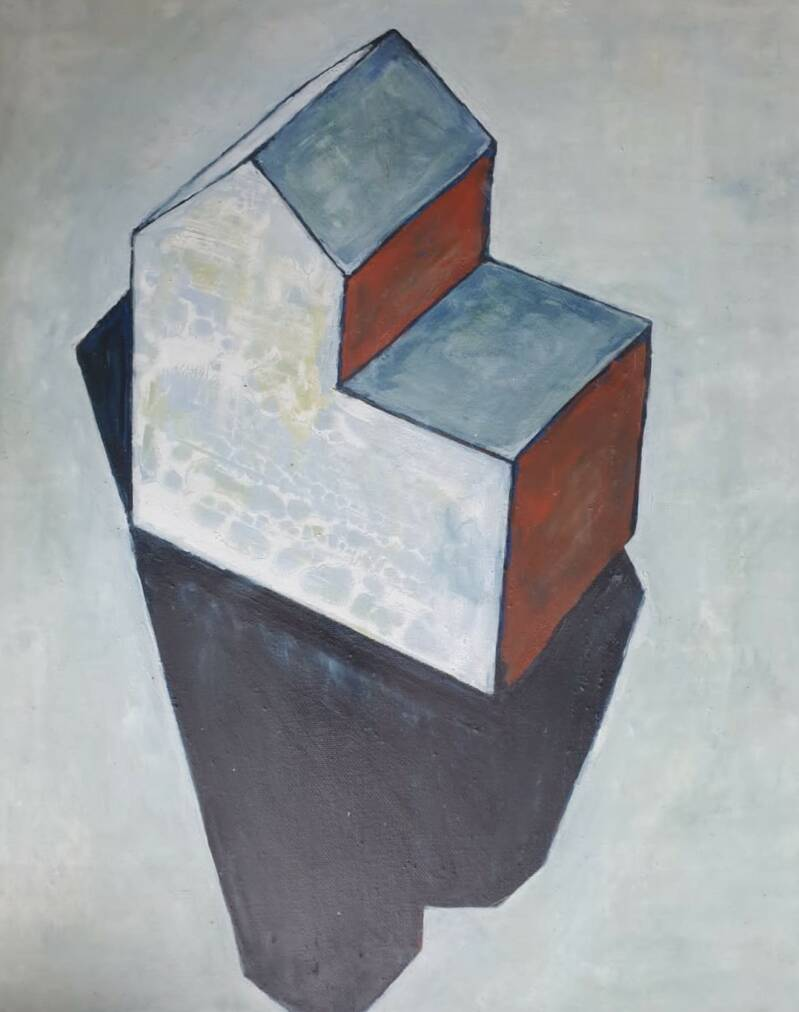Sketch of a Board Piece | Adéle du Plessis | Still-life Painting