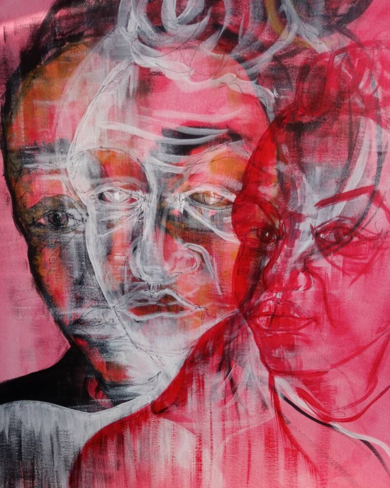 Ghost of You | Fiona J. Williams | Gestural Portriat