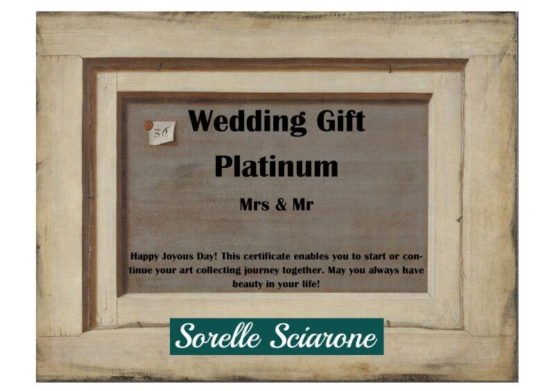 Wedding Gift Platinum