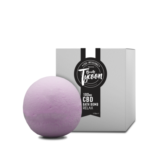Bathbomb RELAX CBD infused - 30mg