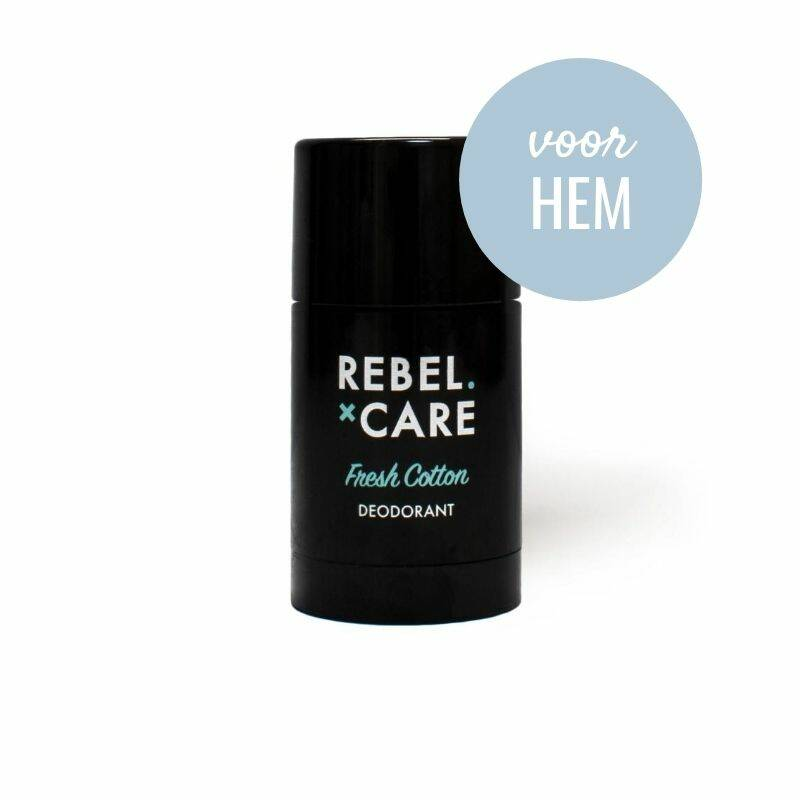 Deodorant Rebel Fresh Cotton XL – voor hem