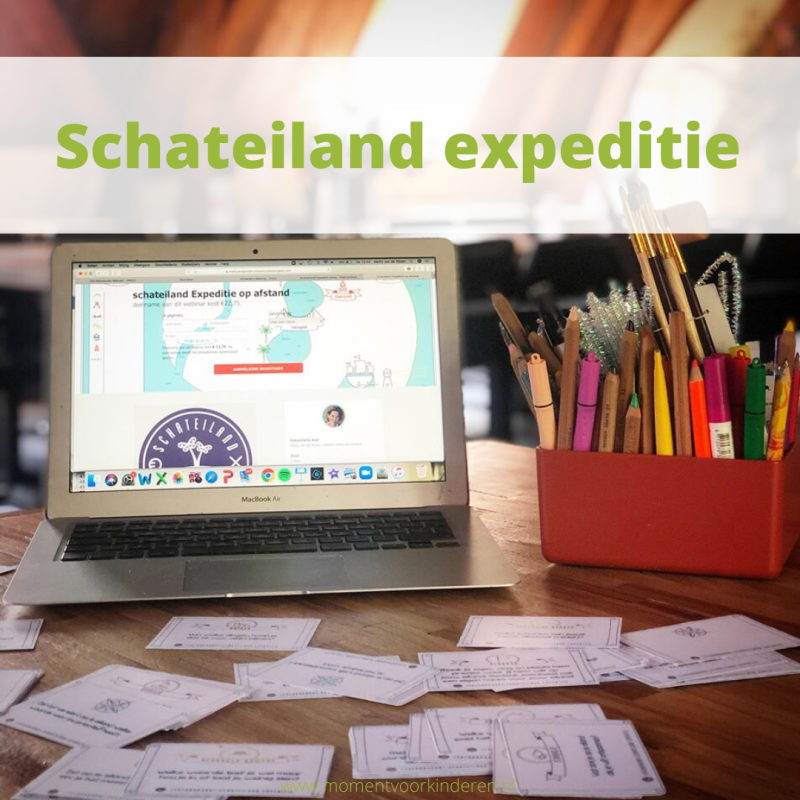 Schateiland expeditie