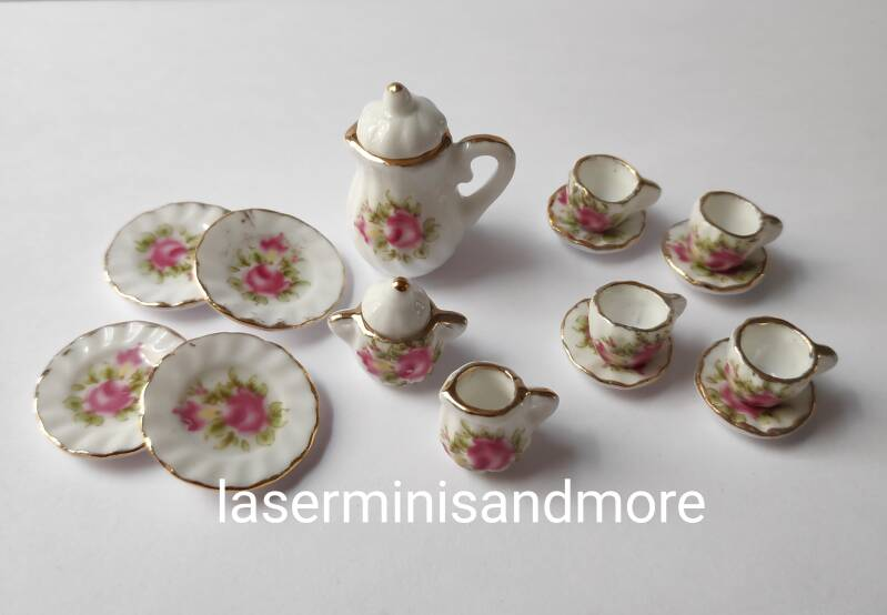 Servies Old Roses 1:12