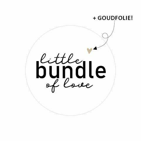 Sticker - Little bundle of Love - per 10
