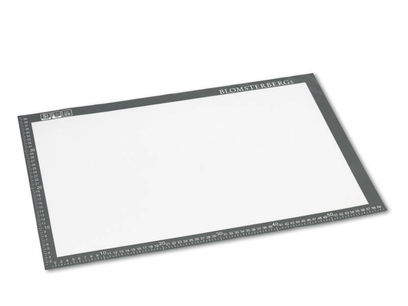 Silicone mat (ENG) - 40 x 60 cm