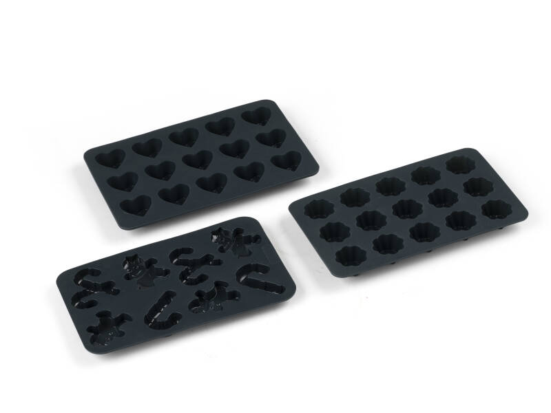 Chocolate molds - 3 pieces