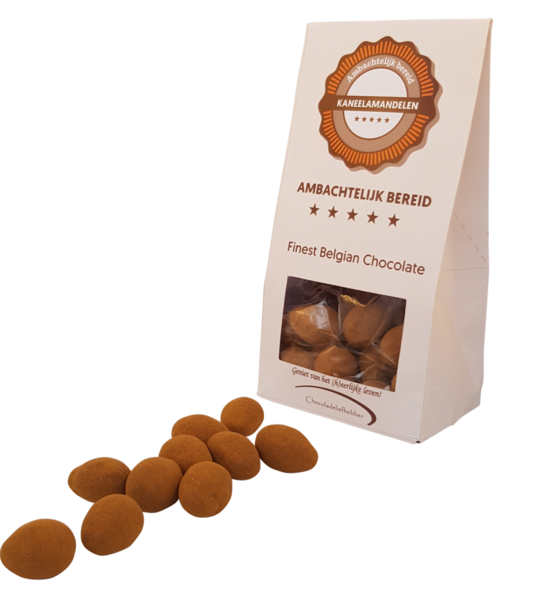 Cinnamon Almonds - 180 gram - Gift wrapping