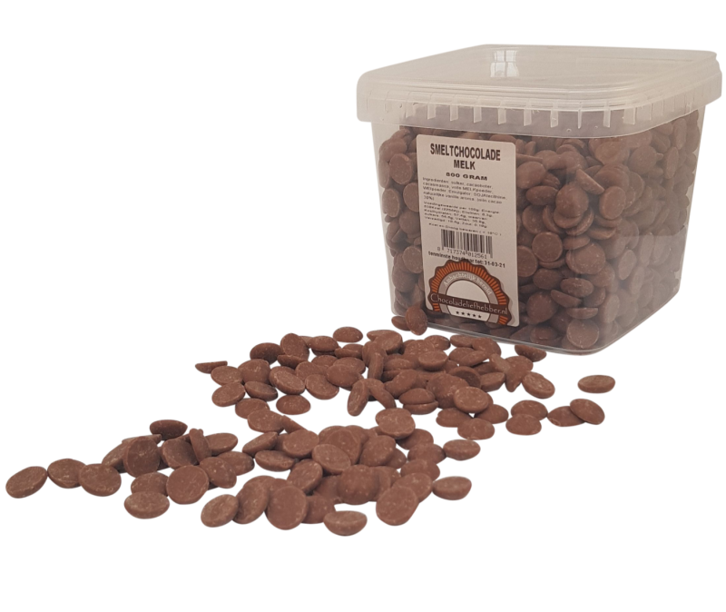 Melting chocolate Callebaut milk - 800 gram