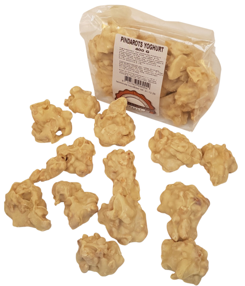 Peanut clusters in White Chocolate - Chocolate-lover 400 gram
