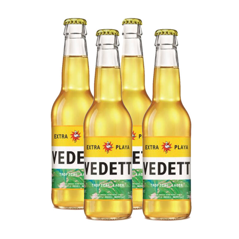 VEDETT PLAYA - 4x33cl