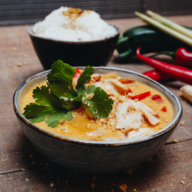 THAI RED CURRY CHICKEN - 2PERS
