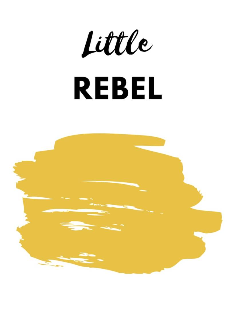 Poster 'Little Rebel'