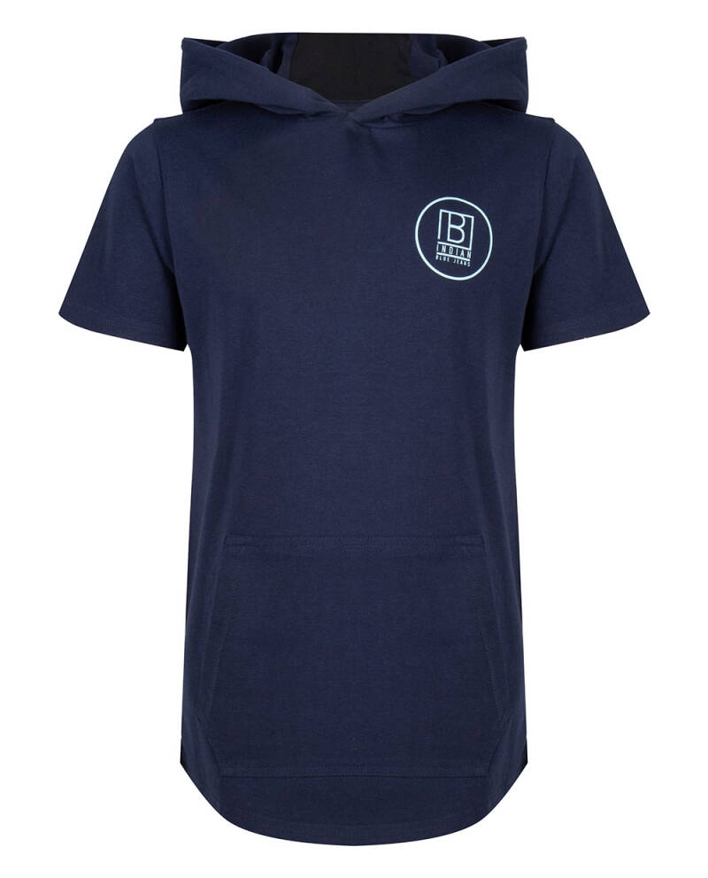IBB-21-3650 Indian Blue t shirt hooded
