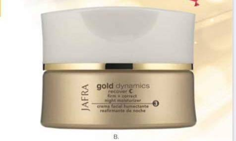 Gold Firm + correct night moisturizer