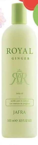 Royal Ginger Body Oil