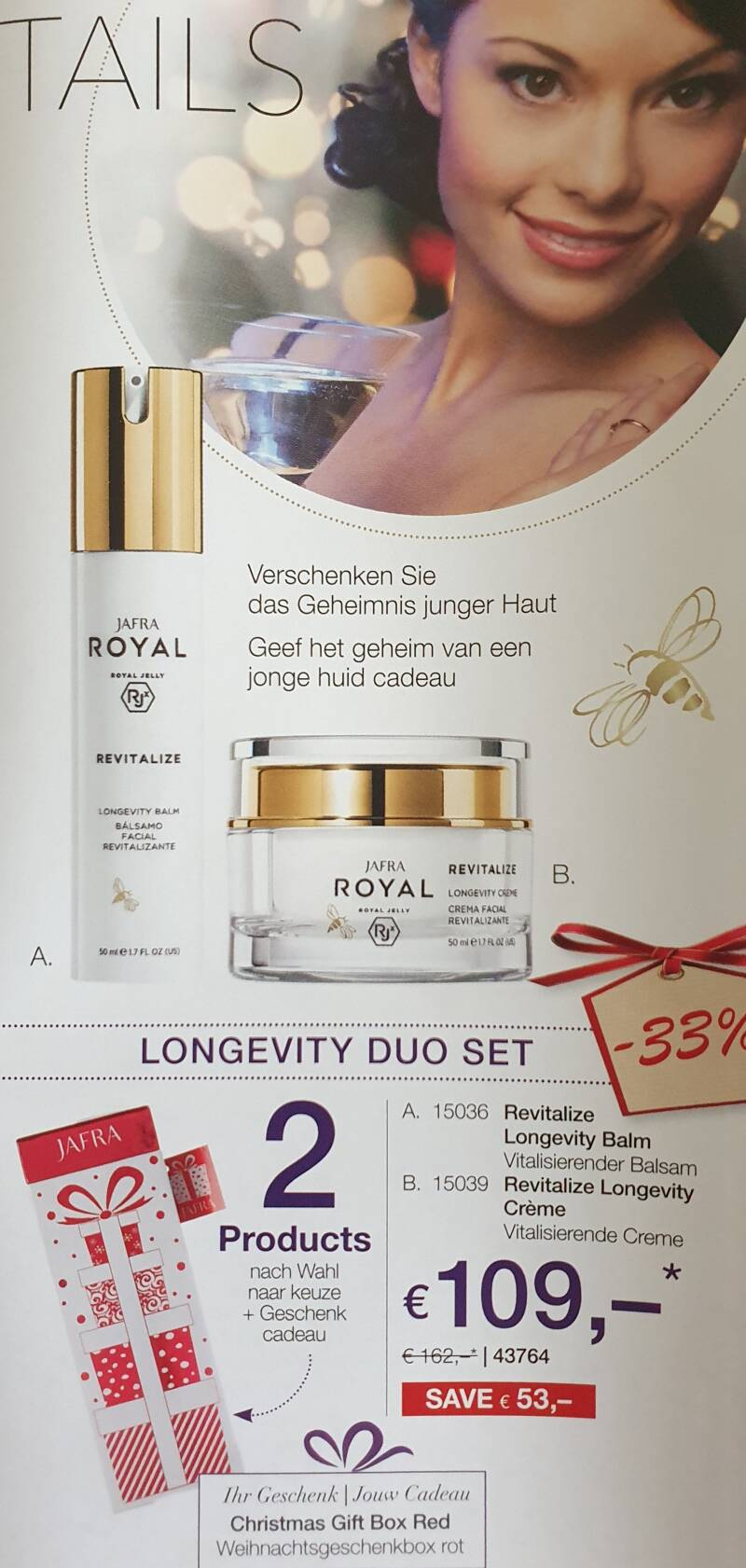 Revitalize longevity duo set