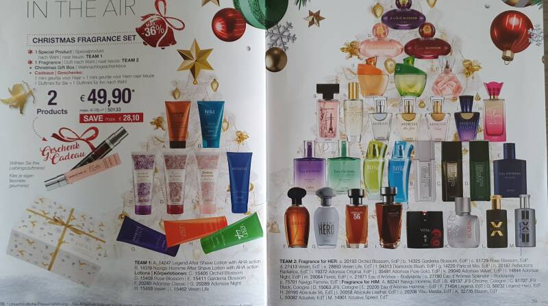 Christmas Fragrance Set