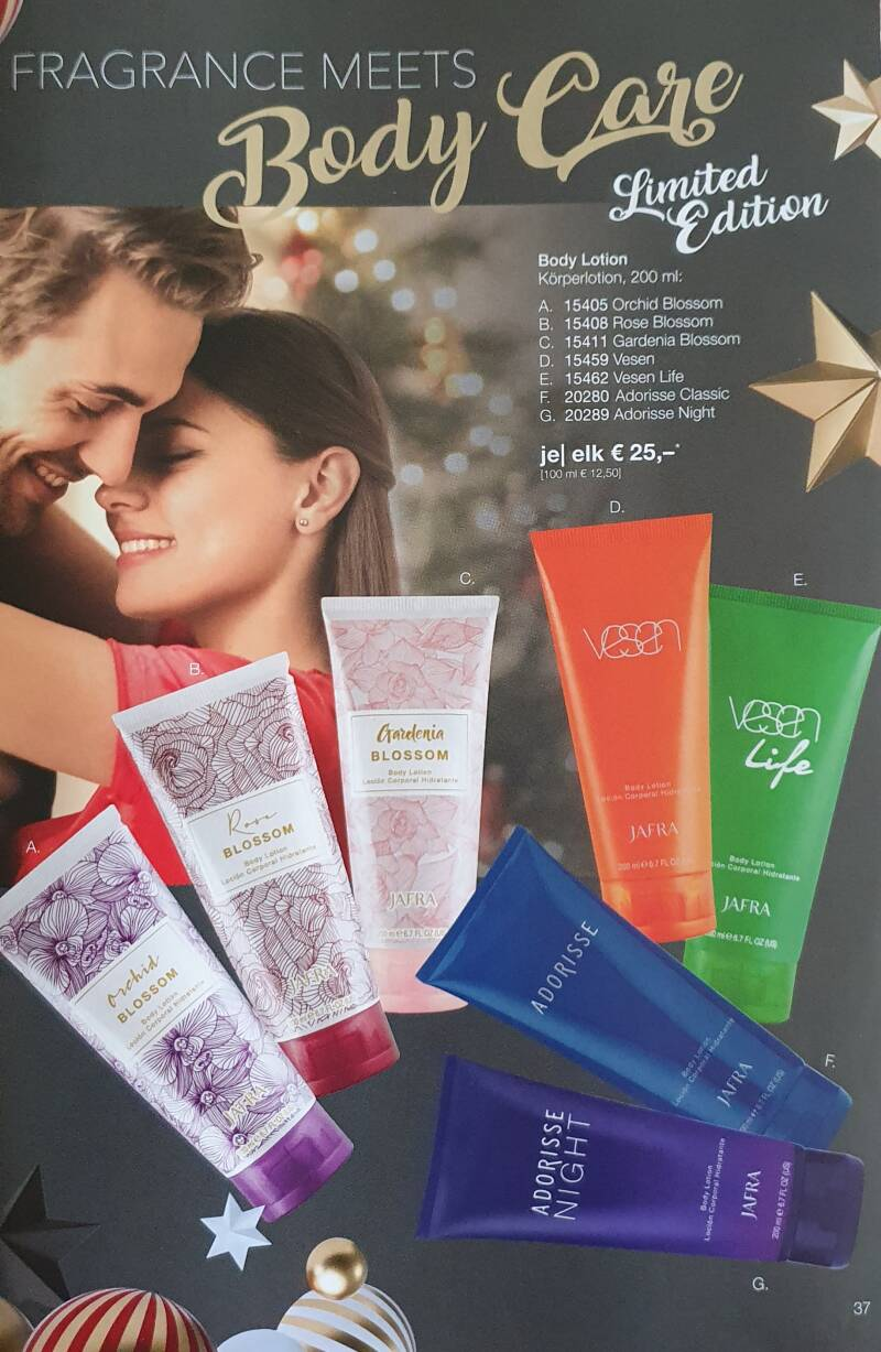 Fragrance meets Body Care