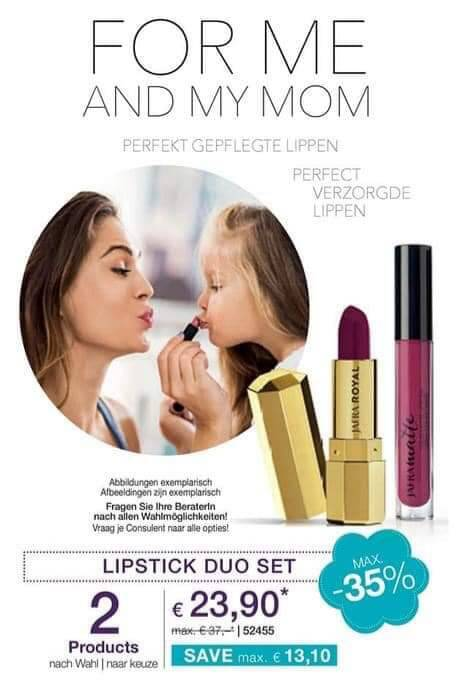 Lipstick duo set