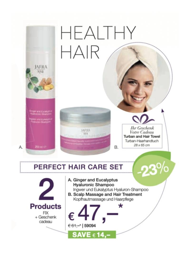 Healthy hair set