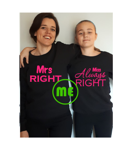 Set sweaters 'Right'